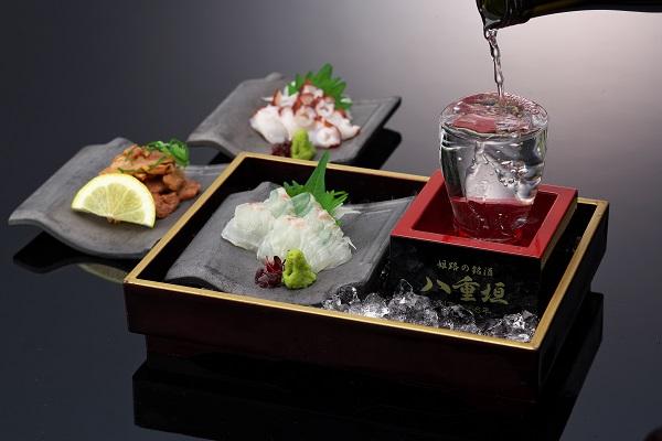 写真:姫路の地酒で乾杯!