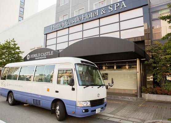 写真:ホテル送迎バス時刻表